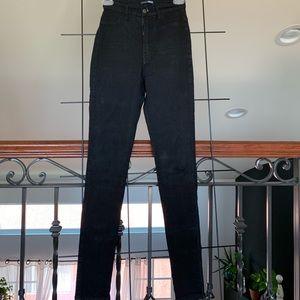 Black Fashion Nova Denim Jeans